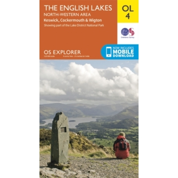 The English Lakes - North-Western Area, Keswick, Cockermouth & Wigton : OL 04