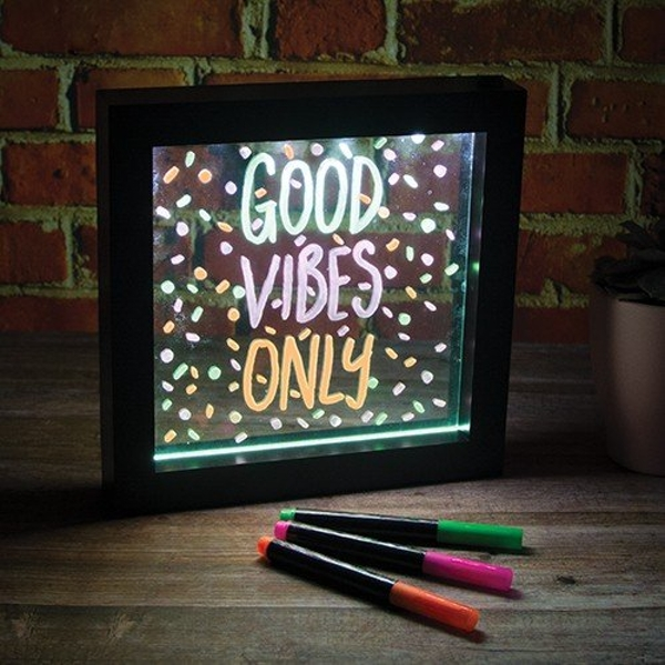 Small LED Writing Message Frame