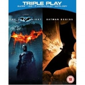 The Dark Knight & Batman Begins Triple Play Blu-ray
