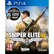 Sniper Elite III 3 with Hunt the Grey Wolf DLC PS4 Game (with Desert Ghost Comic)