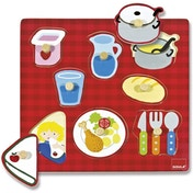 Dinner Table Wooden Jigsaw Puzzle