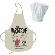 Truth About Mums & Dads The BBQ Apron & Chef Hat