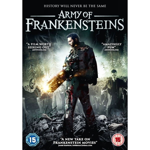 Army Of Frankensteins DVD
