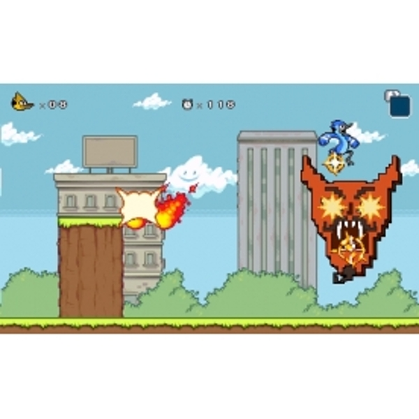 Regular Show Mordecai & Rigby In 8-Bit Land Game 3DS - Image 4