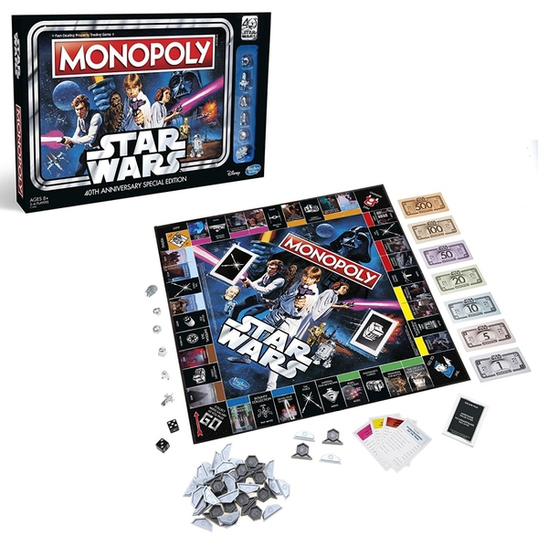 Star Wars Monopoly 40th Anniversary Special Edition - Image 2