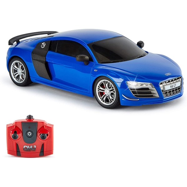 CMJ Remote Control 1:18 Scale 2.4Ghz Officially Licensed Audi R8 GT Racing Car