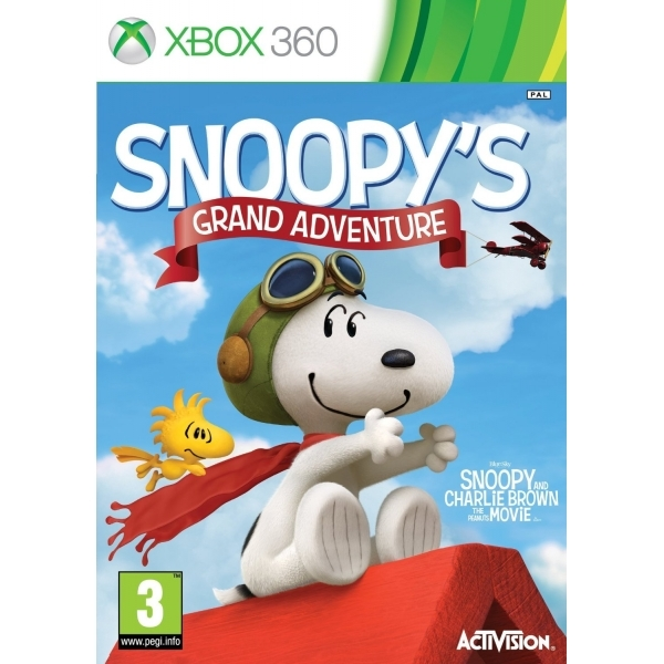 The Peanuts Movie Snoopy's Grand Adventure Xbox 360 Game