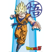 Dragon Ball Z SS Goku Maxi Poster