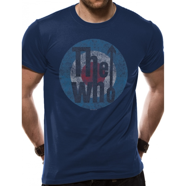 The Who Target Men's XX-Large T-Shirt (Blue)