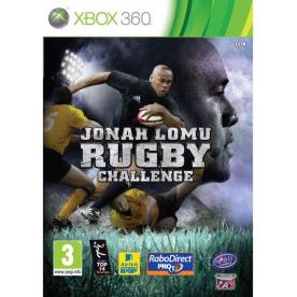 Jonah Lomu Rugby Challenge Game Xbox 360