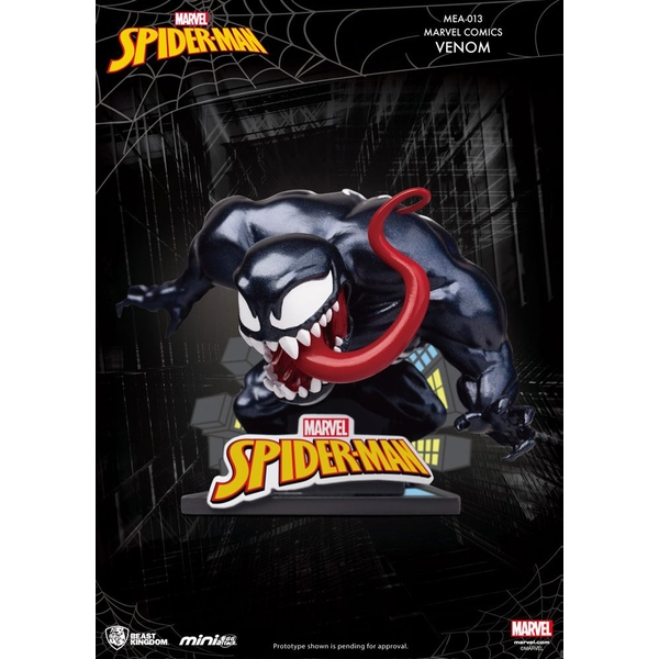 Marvel Comics Mini Egg Attack Figure Venom 8 cm