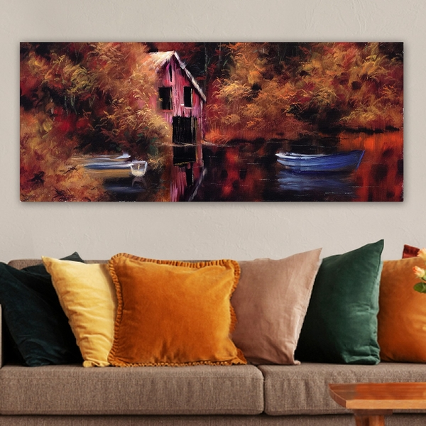 YTY251591584_50120 Multicolor Decorative Canvas Painting