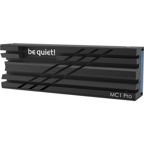 Be Quiet! MC1 PRO M.2 SSD Cooler w/ Integrated Heat Pipe, For Single & Double Sided M.2 2280 Modules
