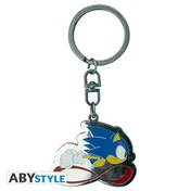 Sonic - Sonic Speed Metal Keyring