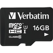 Verbatim Tablet U1 microSDHC Card with USB Reader 16GB memory card