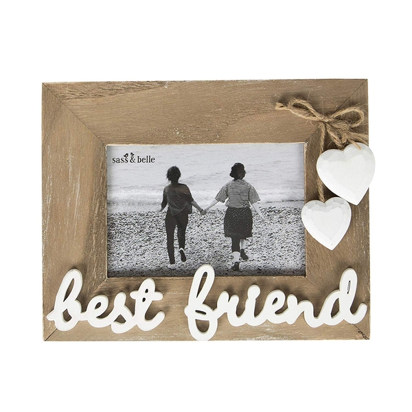Sass & Belle Ashley Farmhouse Best Friend Standing Photo Frame