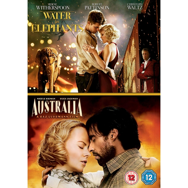 2 Film Collection - Water For Elephants / Australia DVD