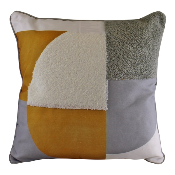 Abstract Design Textured Cushion