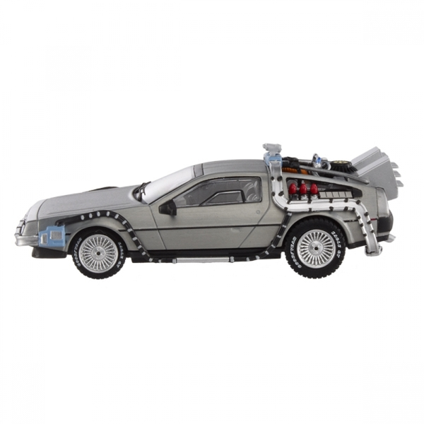 Hot Wheels 1:18 DeLorean Time Machine with Mr Fusion Diecast - Image 3