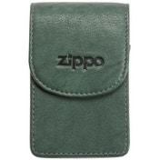 Zippo Leather Cigarette Case Green