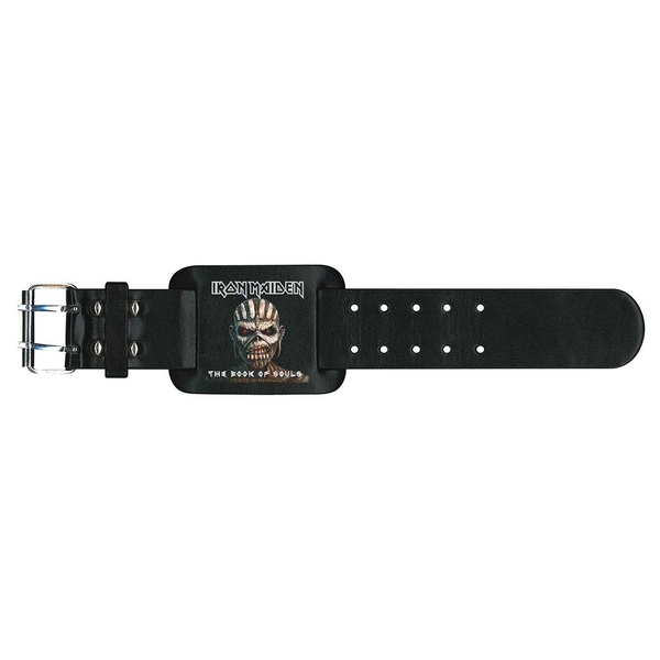 Iron Maiden - The Book of Souls Leather Wrist Strap