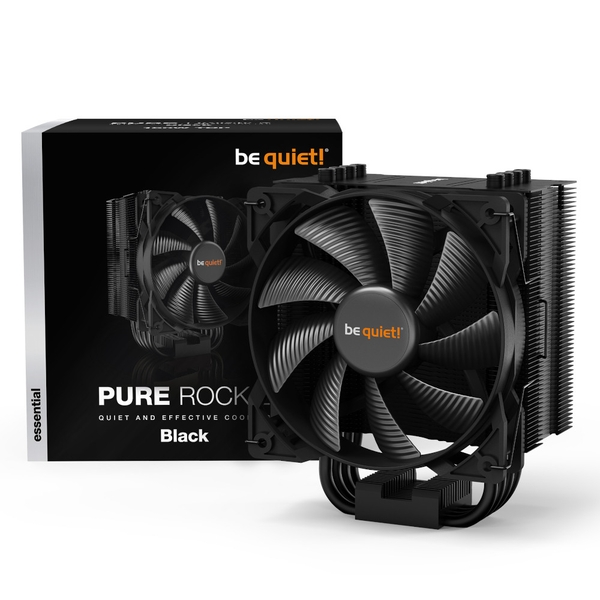 be quiet! Pure Rock 2 Black CPU Cooler - 120mm
