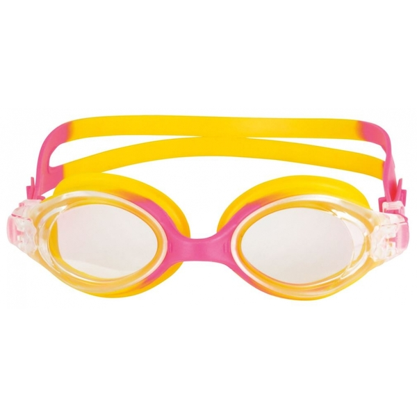 SwimTech Aquarion Junior Goggles Pink/Yellow