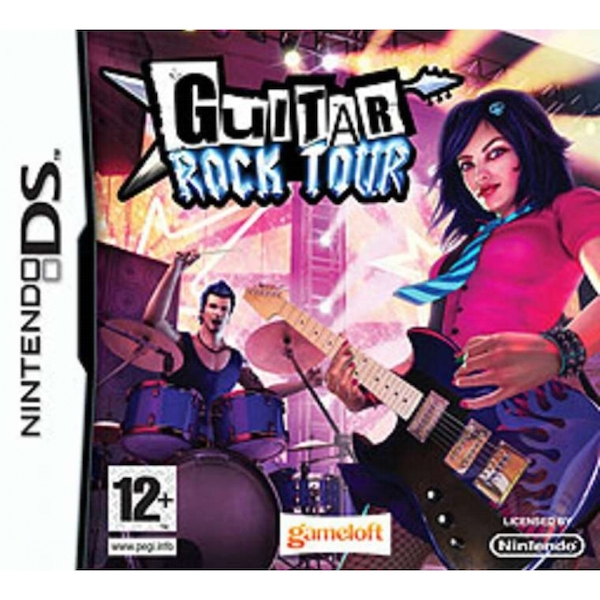 Guitar Rock Tour Game DS [Used]