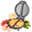 Savisto Electric Omelette Maker - Black UK Plug