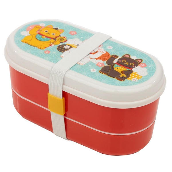 Maneki Neko Lunch Cat Bento Box Lunch Box