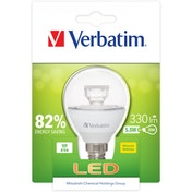 Verbatim 52605 E14 5.5 Watt LED Mini Globe Lamp Energy Class A
