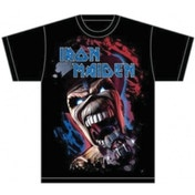 Iron Maiden Wildest Dream Vortex Mens T Shirt: Large