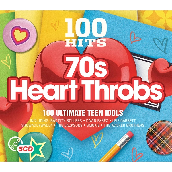 100 Hits – 70's Heart Throbs CD