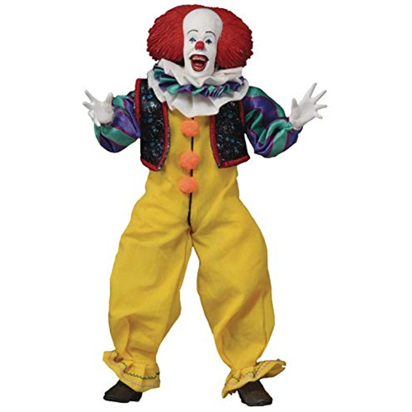 It 1990 Pennywise 8 Inch Clothed Figure