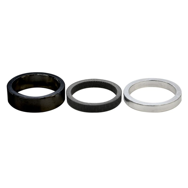 ETC Alloy Headset Spacer 28.6mm x 5mm Black