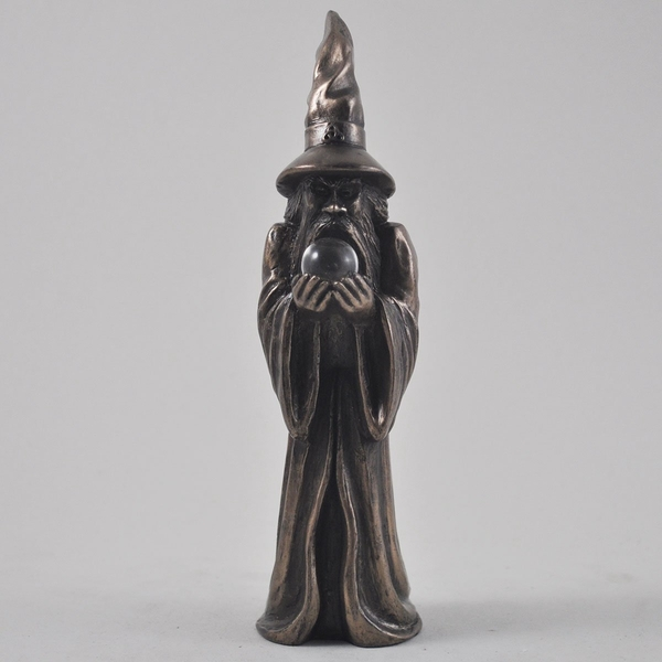 Wizard Bronze Ornament 16cm