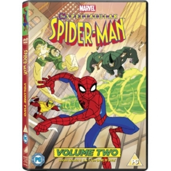 The Spectacular Spider-Man Volume 2 DVD