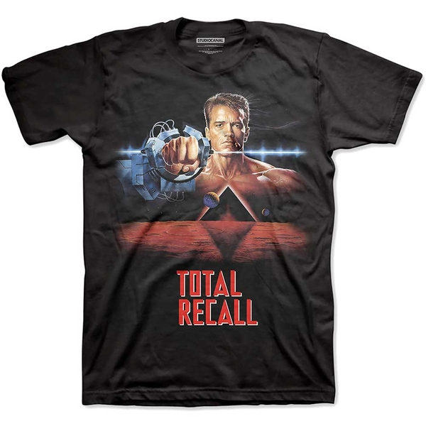 StudioCanal - Total Recall Unisex Small T-Shirt - Black