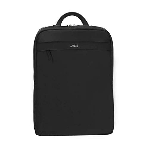Targus Newport Ultra Slim Backpack Trendy for Travel and Commuter fit up to 15-Inches Laptop, Black (TBB598GL)
