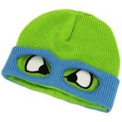 Teenage Mutant Ninja Turtles (TMNT) Leo Face & Mask Cuffless Beanie