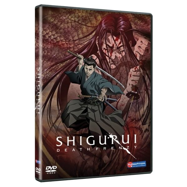 Shigurui Death Frenzy Complete Series DVD