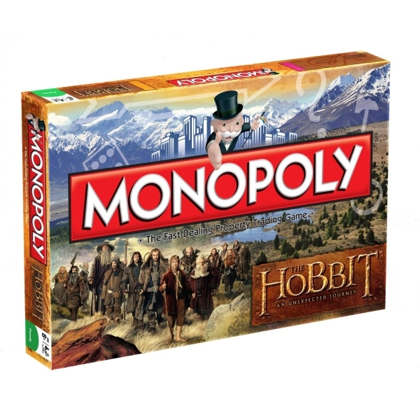 The Hobbit Monopoly Board Game