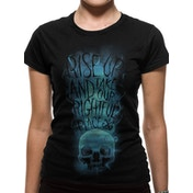 Crimes Of Grindelwald - Rise Up Women's Medium T-Shirt - Black