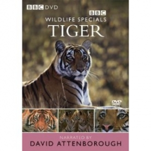 Wildlife Specials Tiger DVD