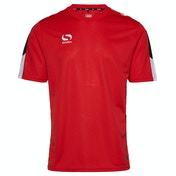 Sondico Venata Training Jersey Youth 5-6 (XSB) Red/White/Black