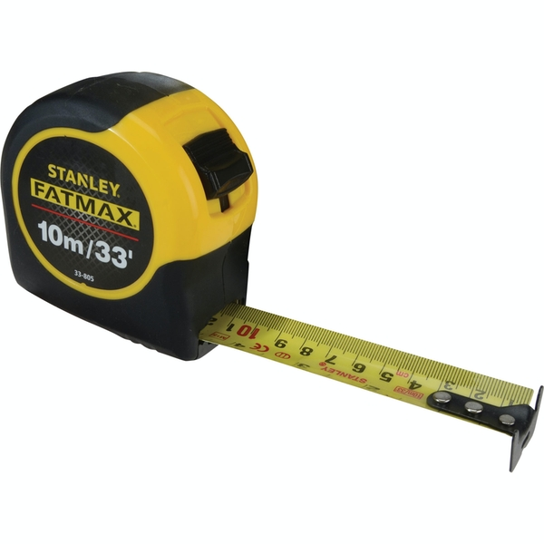 Stanley FatMax Blade Armor Metric/Imperial Tape Length: 5m (16ft) x Width: 32mm