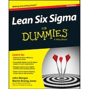 Lean Six Sigma For Dummies by John Morgan, Martin Brenig-Jones (Paperback, 2015)