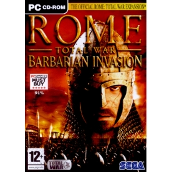 Rome Total War Barbarian Invasion Expansion Game PC