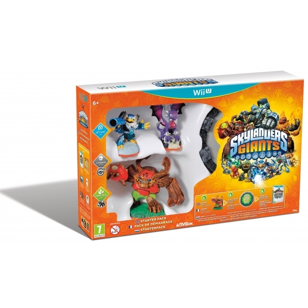 Skylanders Giants Starter Pack Wii U Game