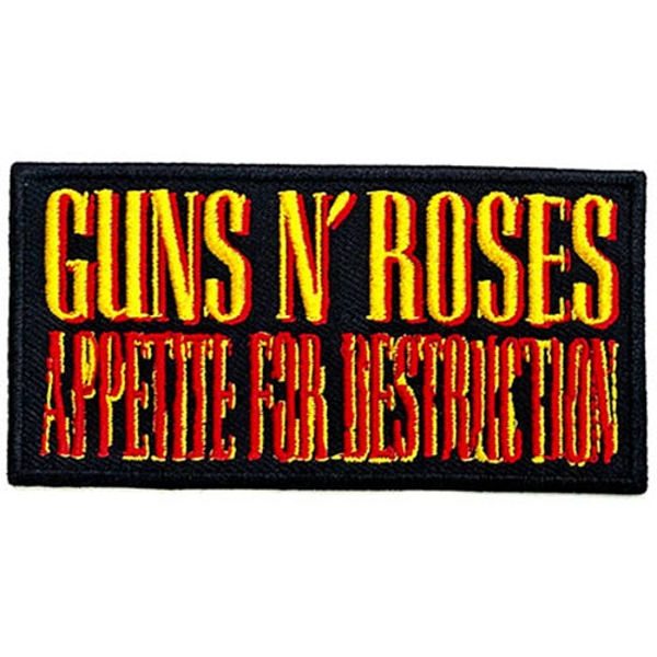 Guns N' Roses - Appetite for Destruction Standard Patch